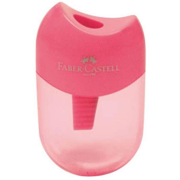 ファーバーカステル 鉛筆削り(丸型ミニ)TFC-183502/H-2 ピンク