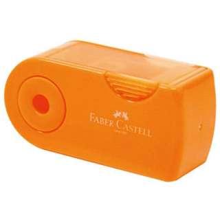 ファーバーカステル 鉛筆削り(角型ミニ)TFC-182702/H-3 オレンジ
