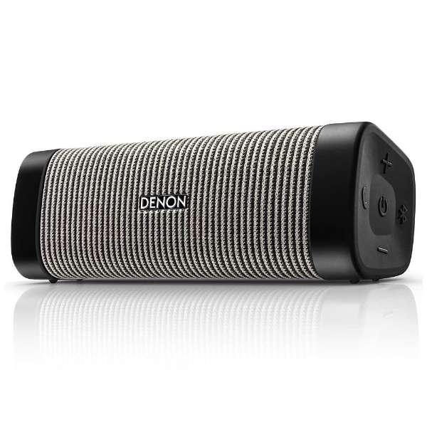 ブルートゥース スピーカー ブラック/グレー DSB50BTBGEM [Bluetooth対応]