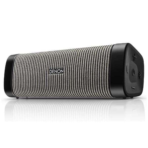 ブルートゥース スピーカー ブラック/グレー DSB150BTBGEM [Bluetooth対応]