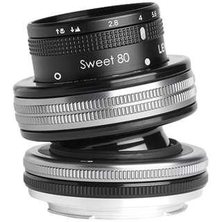 カメラレンズ レンズベビー コンポーザープロII スウィート80 F2.8【ニコンFマウント】