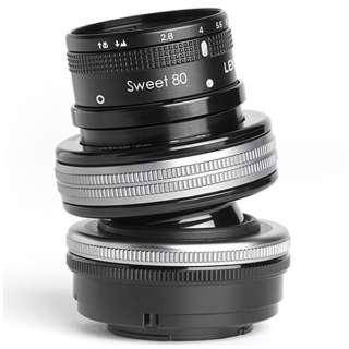 カメラレンズ レンズベビー コンポーザープロII スウィート80 F2.8【マイクロフォーサーズマウント】