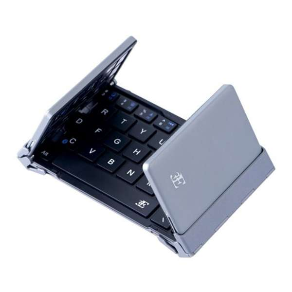 スマホ用キーボードの選び方 携帯には折りたたみタイプが便利