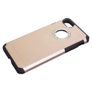 iPhone8/7 (4.7) ジャケット リング付き ハイブリッド耐衝撃