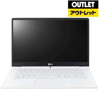 【アウトレット品】 14.0型ノートPC[Win10 Home・Core i5・SSD 256GB・メモリ 8GB] LG gram Series Ultra-Slim Note PC 14Z970-GA55J (2017年3月モデル) 【外装不良品】