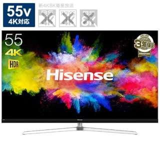 HJ55N8000 液晶テレビ シルバー [55V型 /4K対応]