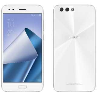 ZenFone 4カスタマイズモデルホワイト「ZE554KLWH64S4I」 Snapdragon 630 5.5型・メモリ/ストレージ:4GB/64GB NanoSIM×2 DSDS対応 SIMフリースマートフォン
