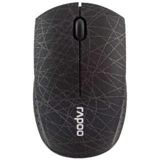 3360PLUSBK マウス Rapoo Super-mini ブラック [光学式 /3ボタン /USB /無線(ワイヤレス)]