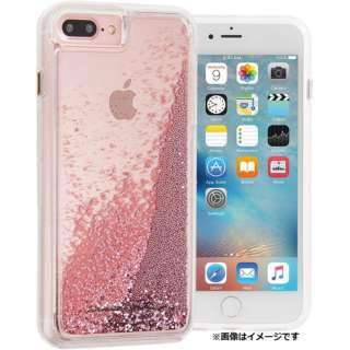 iPhone 8 Plus用 Waterfall Rose Gold Case-Mate CM036178
