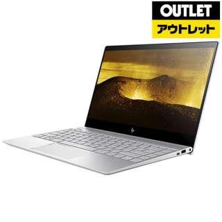 【アウトレット品】 13.3型ノートPC[Win10 Home・Core i3・SSD 256GB・メモリ 4GB・Office Home & Business] ENVY 13-ad009TU-OHB 2DP52PA-AAAGナチュラルシルバー 【生産完了品】