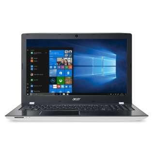 E5-576-F34D/W ノートパソコン Aspire E 15 マーブルホワイト [15.6型 /intel Core i3 /HDD:500GB /メモリ:4GB /2017年11月モデル]