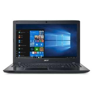 E5-576-F34D/K ノートパソコン Aspire E 15 オブシディアンブラック [15.6型 /intel Core i3 /HDD:500GB /メモリ:4GB /2017年11月モデル]