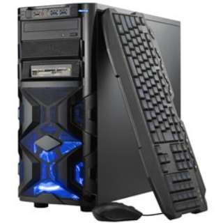 SPR-EY17MI77M8S2G15 ゲーミングデスクトップパソコン [モニター無し /SSD:240GB /メモリ:8GB]