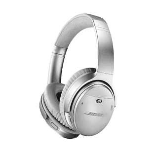 ブルートゥースヘッドホン QUIETCOMFORT 35 WIRELESS HEADPHONES II シルバー QUIETCOMFORT35II [Bluetooth /ノイズキャンセリング対応]