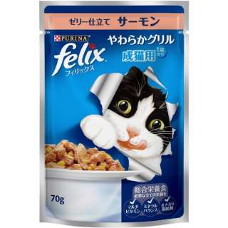 フィリックスやわらかG 成猫用 サーモン 70g