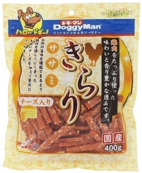 ドギーマン きらりササミ チーズ入り 400g
