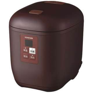 KSC-1512 炊飯器 ライスクッカーミニ ブラウン [1.5合 /マイコン]