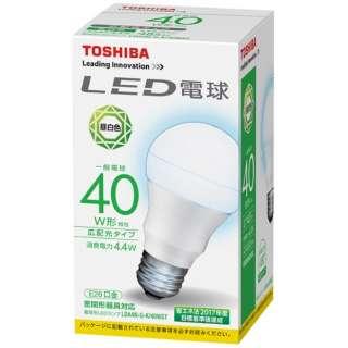 LDA4N-G-K/40WST LED電球 [E26 /昼白色 /1個 /40W相当 /一般電球形 /広配光タイプ]
