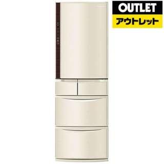 【アウトレット品】 冷蔵庫 Vタイプ [5ドア /右開きタイプ /411L] NR-E412V-N  シャンパン 【生産完了品】