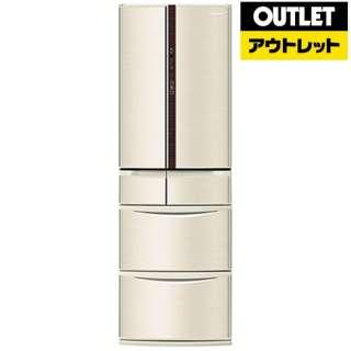 【アウトレット品】 NR-F412V-N 冷蔵庫 Vタイプ シャンパン [6ドア /観音開きタイプ /411L] 【生産完了品】