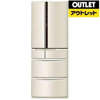 【アウトレット品】 冷蔵庫 Vタイプ [6ドア /観音開きタイプ /501L] NR-F502V-N シャンパン 【生産完了品】