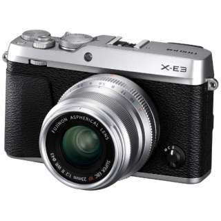 F X-E3LK23F2-S ミラーレス一眼カメラ XF23mmF2レンズキット シルバー [単焦点レンズ]