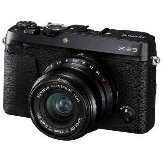 F X-E3LK23F2-B ミラーレス一眼カメラ XF23mmF2レンズキット ブラック [単焦点レンズ]