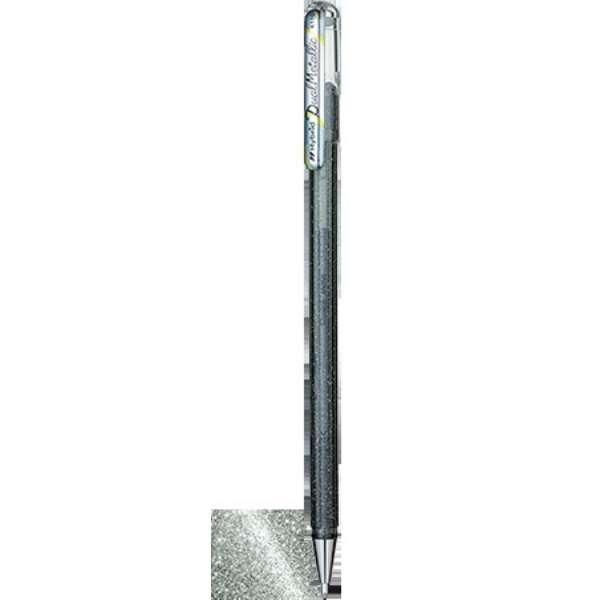 [ボールペン]ハイブリッドデュアルメタリック Silver(ボール径:1.0mm) K110-DZ