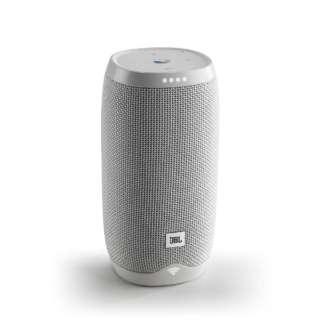 JBLLINK10WHTJP スマートスピーカー(AIスピーカー) ホワイト [Bluetooth対応 /Wi-Fi対応 /防水]