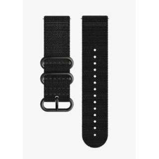 時計関連品:腕時計替えベルト トラバース(TRAVERSE) ALPHA BLACK TEXTILE STRAP KIT SS022294000 SS022294000 ブラック