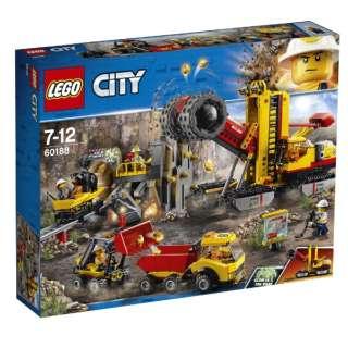 LEGO(レゴ) 60188 シティ ゴールドハント 採掘場
