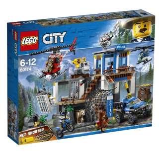 LEGO(レゴ) 60174 シティ 山のポリス指令基地
