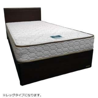 【フレームのみ】フランスベッド 収納なし FB-UM1708F-LG[レッグ](シングルサイズ/ブラウン)