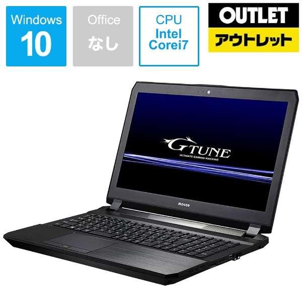 【アウトレット品】 15.6型ゲーミングノートPC[Core i7・メモリ16GB・SSD256GB・HDD1TB・GTX1070]BC-GTUNEI77G17N1 【生産完了品】