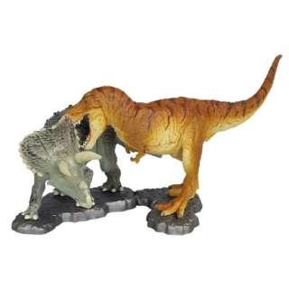 MQ002 miniQティラノサウルスvsトリケラトプス