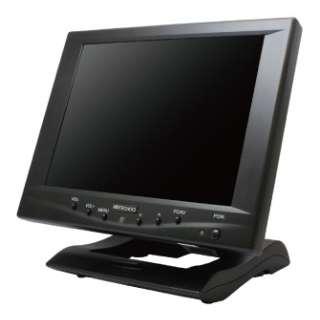 タッチパネル液晶モニター ブラック CL8801NT [スクエア /SVGA(800×600)]