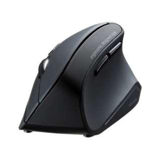MA-ERGBT11 エルゴノミクスマウス ブラック [BlueLED /5ボタン /Bluetooth /無線(ワイヤレス)]