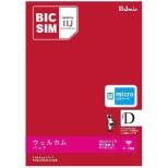 【SIM同梱】マイクロSIM「BIC SIM」データ通信専用・SMS非対応 ドコモ対応SIMカード IMB208