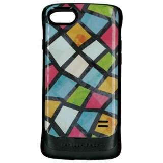 iPhone8/7兼用 VANILLA PACK 衝撃吸収ケース ステンドグラス