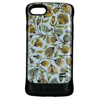 iPhone8/7兼用 VANILLA PACK 衝撃吸収ケース 花柄4