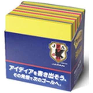 [付箋] 限定 ポスト・イット 強粘着ノート(75x75mm /30枚x14パッド) 654-5SSAN-IP-J サッカー日本代表チーム モデル