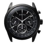 ハイブリットスマートウォッチ ヘッド wena wrist ブラック WH-CS01 B