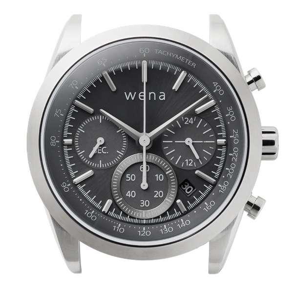 ハイブリットスマートウォッチ ヘッド wena wrist シルバー WH-CS01 S