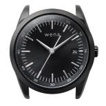 ハイブリットスマートウォッチ ヘッド wena wrist ブラック WH-TS01 B