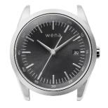 ハイブリットスマートウォッチ ヘッド wena wrist シルバー WH-TS01 S