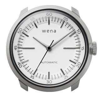 ハイブリッドスマートウォッチ wena wrist Mechanical White Head WH-TM01 W