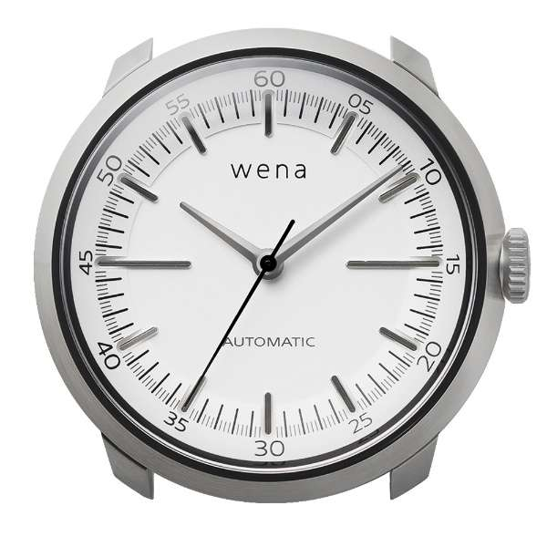 ハイブリットスマートウォッチ ヘッド wena wrist ホワイト WH-TM01 W