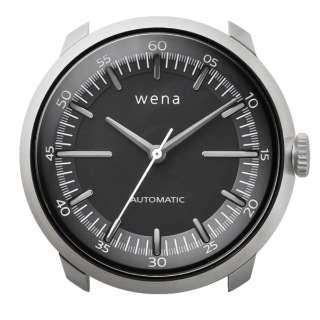 ハイブリッドスマートウォッチ wena wrist Mechanical Silver Head WH-TM01 S
