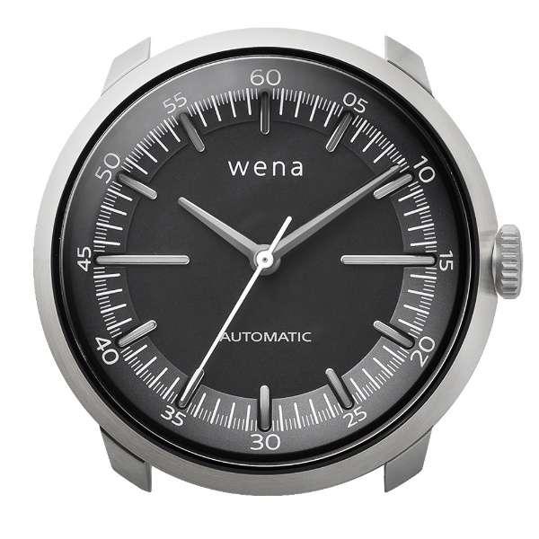 ハイブリットスマートウォッチ ヘッド wena wrist シルバー WH-TM01 S
