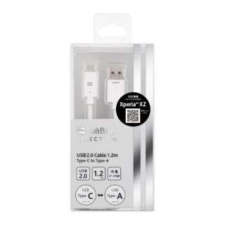 【店舗限定】 USB2.0 Cable 1.2m Type-C to Type-A